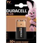 Batterie Duracell Plus Power Typ PP3 9V-Block Blister