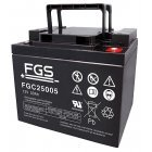 FGS Batteri til Shoprider Power Chairs Jetstream L (FGC25005) 12V 50Ah AGM