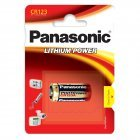 Panasonic CR123A Lithium Batteri 3V 1 blister