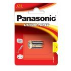 Panasonic CR2 Lithium Batteri 3V 1 Blister