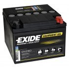 Batteri til Camping Mover og Forbrug Exide ES290 Equipment Gel Batteri 12V 25Ah
